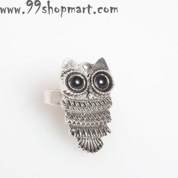 Buy owl ring retro style vintage boho fashion adjustable ring for women online 99shopmart 99SWR24_01