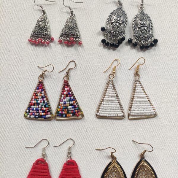 Buy triangle earrings combo set for women 99shopmart